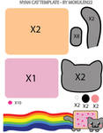 Nyan Cat pattern