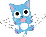 HAPPY FROM Fairy Tail by Mokulen22