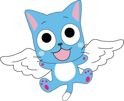 HAPPY FROM Fairy Tail by Mokulen22 on DeviantArt  Happy Fairy Tail Cute