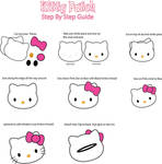 Hello Kitty Patch Pin guide