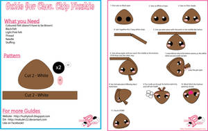 Chocolate Chip Plushie for AN by Mokulen22