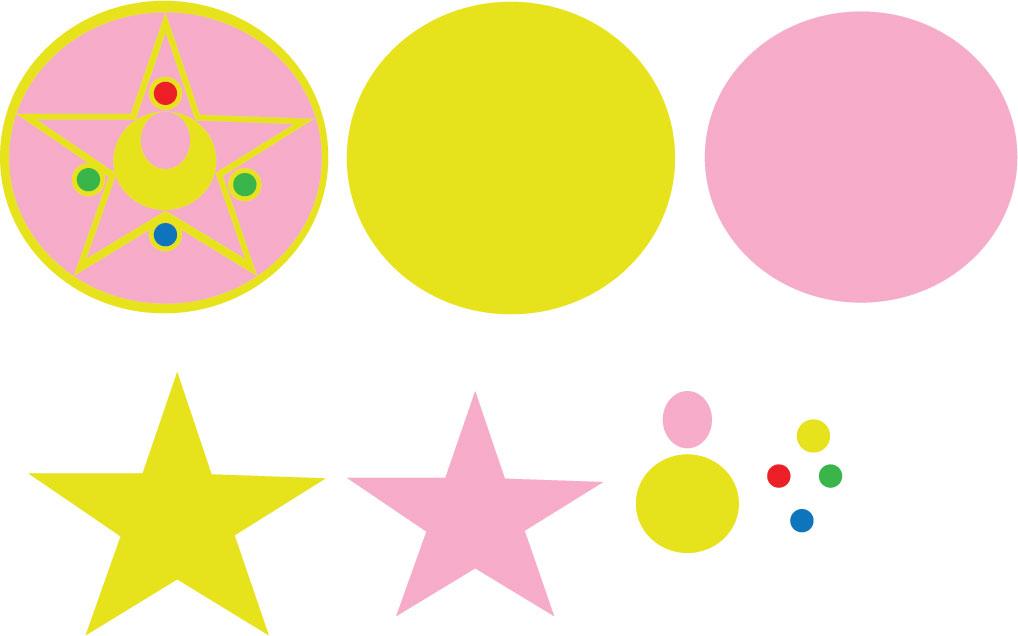 Sailor Moon Brooch Pattern by Mokulen22 on DeviantArt