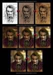 Joker painting process