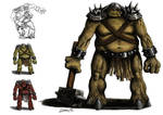 Dungeon Troll concept