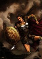 Warrior Princess by aaronwty
