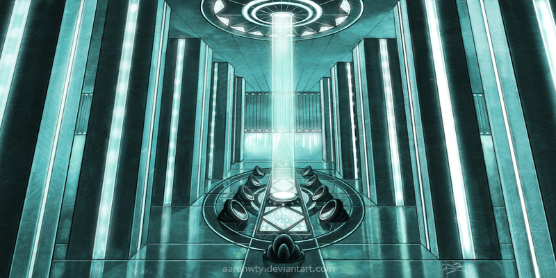 [OB;014] Un' System - Seat of the Systems Republic of Kal'Bavakor Council_chamber_by_aaronwty-d4aeshg