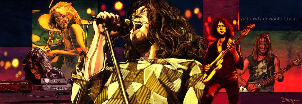 Deep Purple by aaronwty