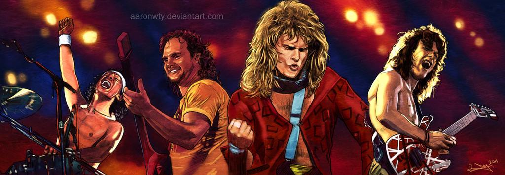 Van Halen by aaronwty