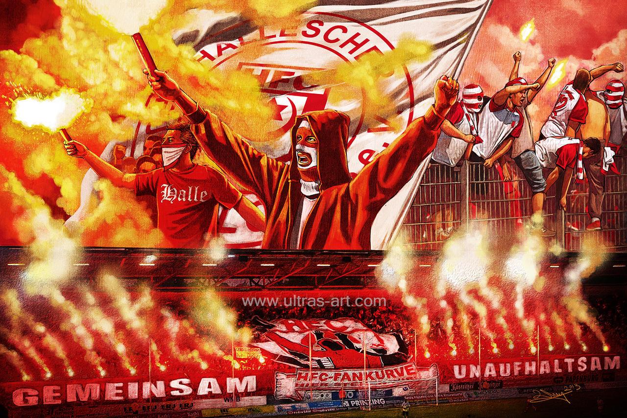 Hooligan Art - Hellescher Ultras by aaronwty