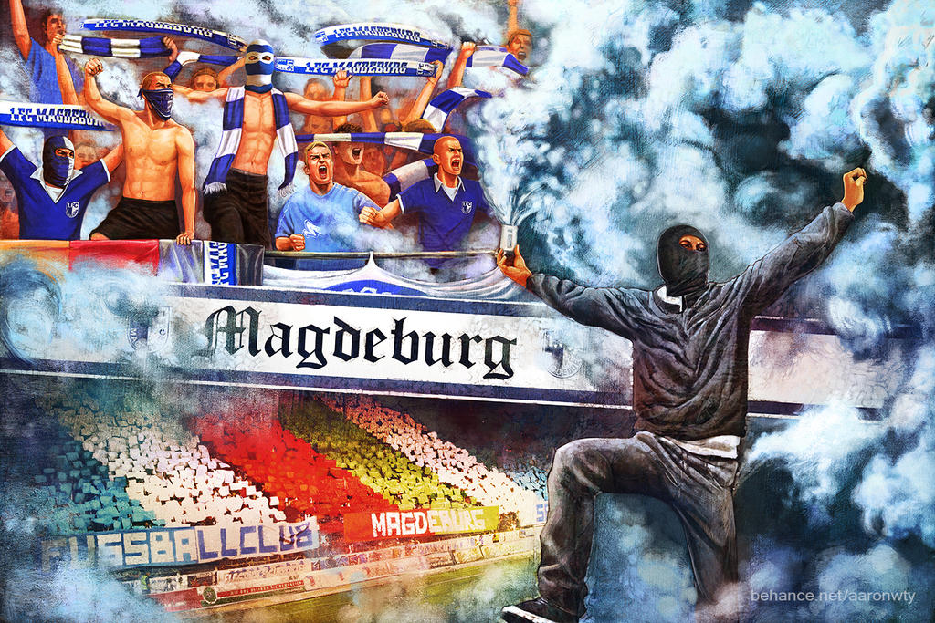 Hooligan Art - Magdeburg Ultras by aaronwty