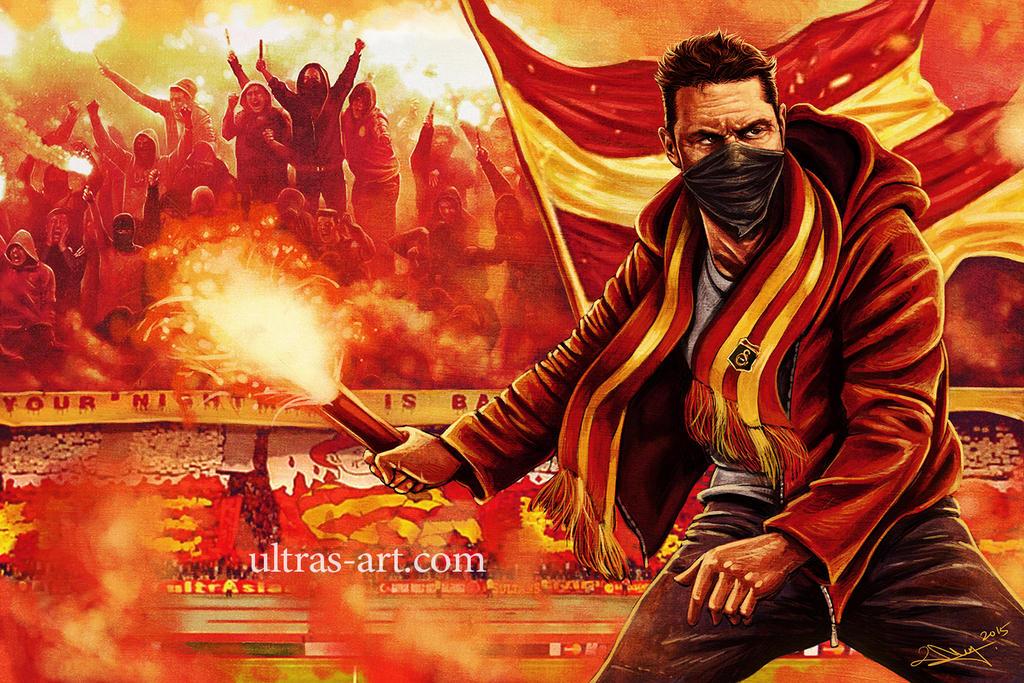 Galatasaray Ultras by aaronwty