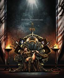 Xena on the Throne
