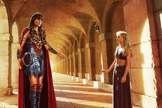 Xena meets Gabrielle