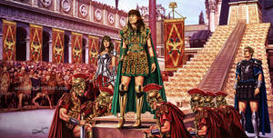 Xena returns to Rome by aaronwty