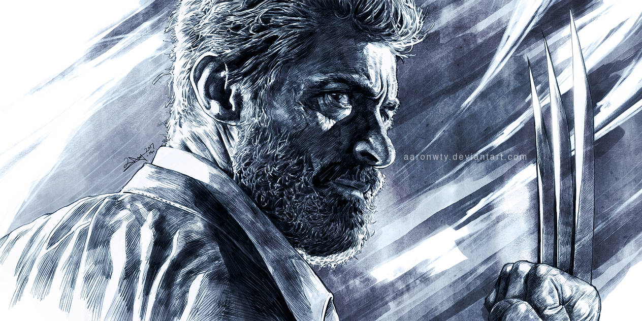 Old Logan - tribute to Hugh Jackman