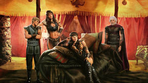 Xena and her commanders