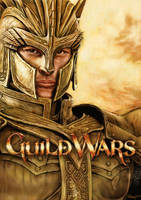 Guild Wars - Warrior by aaronwty