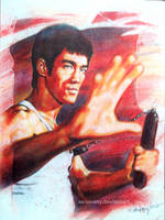 Bruce Lee the ultimate fighter by aaronwty