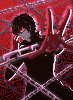 Joker - Persona 5 Fanart