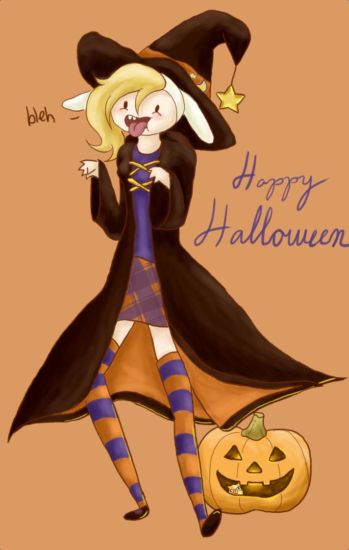 Happy Halloween by TsukiTheHalfDemon