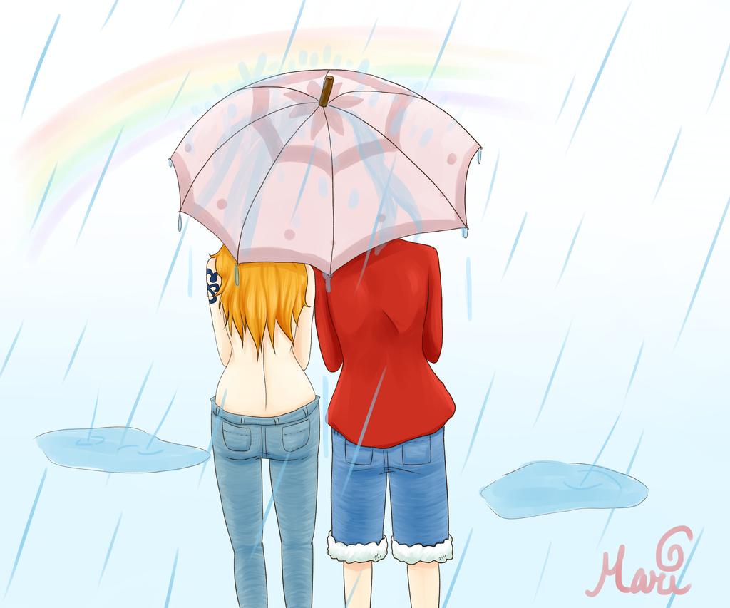 more beautiful then a rainbow by TsukiTheHalfDemon
