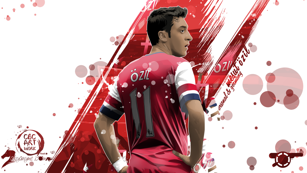 Mesut OZIL By FurkanCbc On DeviantArt