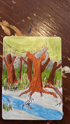 Forest card by AngelicAdonis