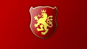 Macedonian Coat of Arms Wallpaper 1 by Calkino