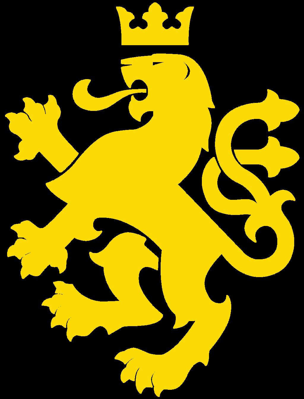 yellow lion logo - photo #11