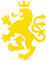 Golden Lion of Macedonia - Transparent - 3816x5000 by Calkino