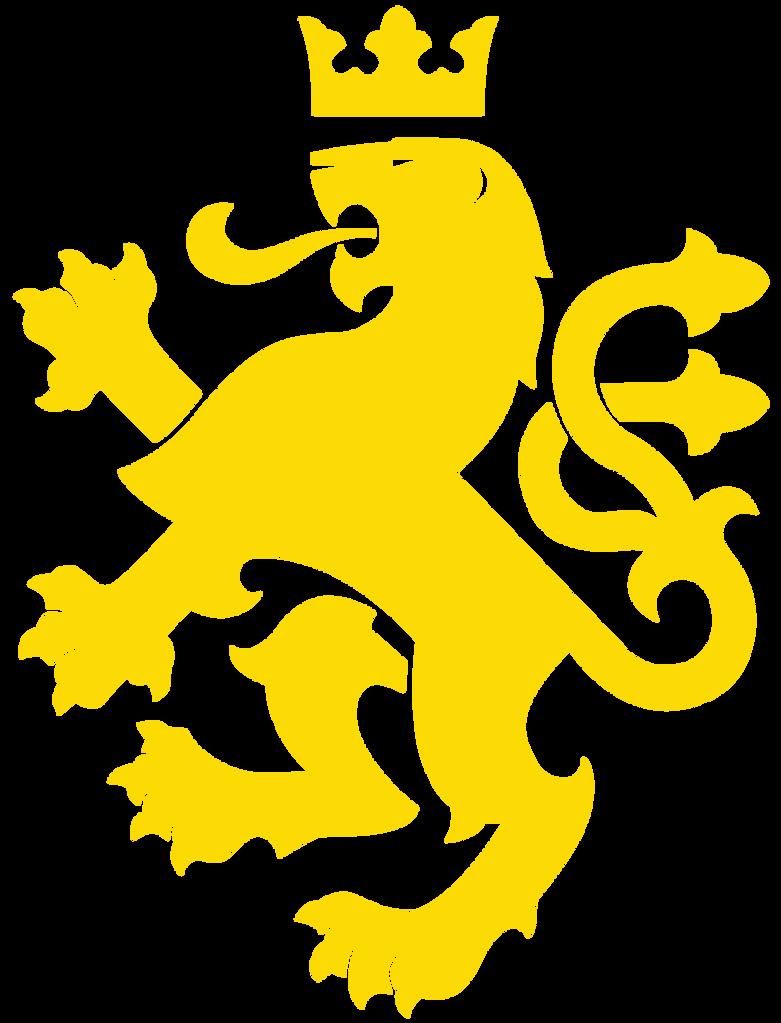 Yellow lion logo - photo#10