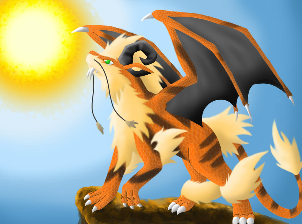 Dragon type arcanine by draginfyr on deviantart - Arcanine pics ...