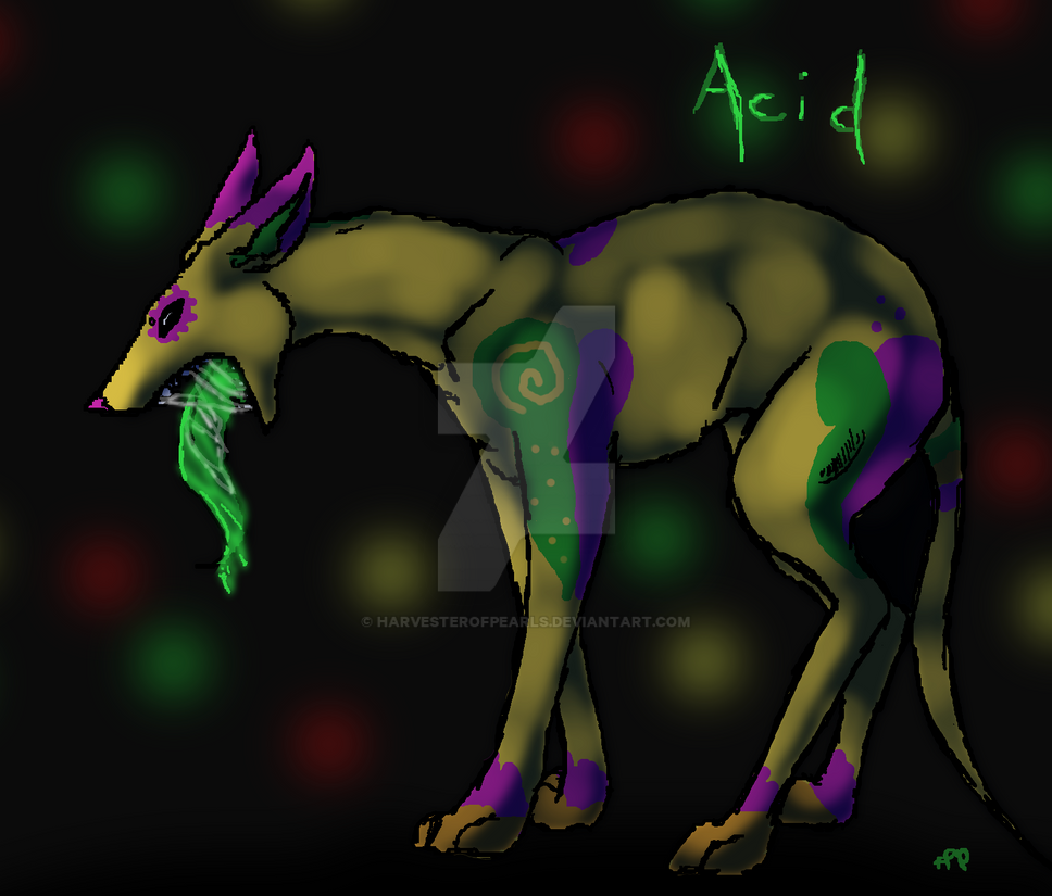 Acid hound by HarvesterofPearls