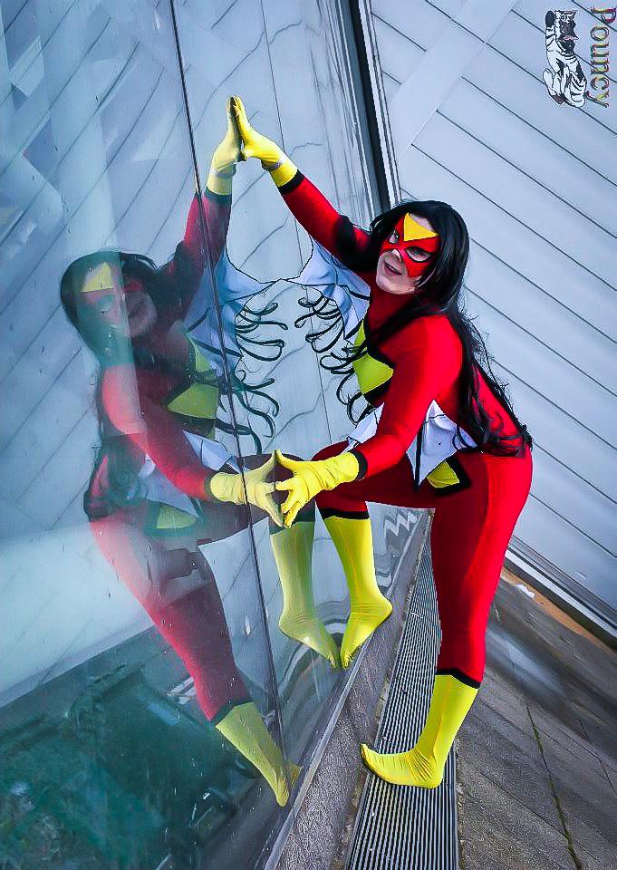 Spiderwoman by Rebecca-Manuel