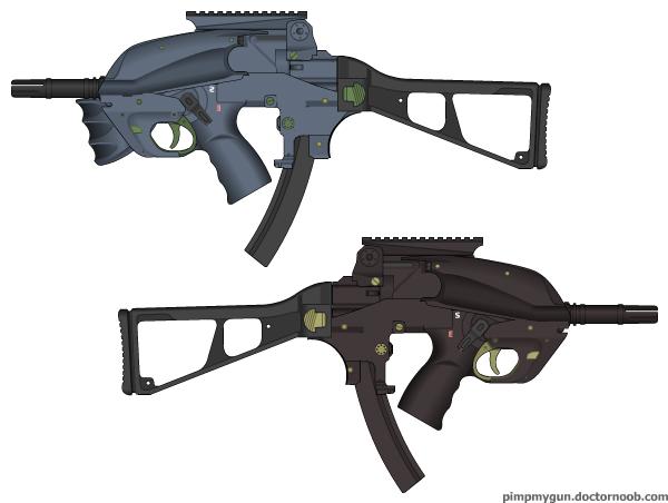 Machine Pistol Model 15 by Simeon-FPMG on DeviantArt
