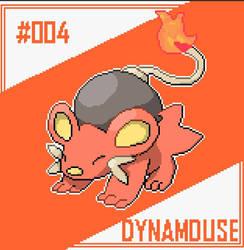 Fire starter[DYNAMOUSE] for Pokemin Deception by AnuranKd