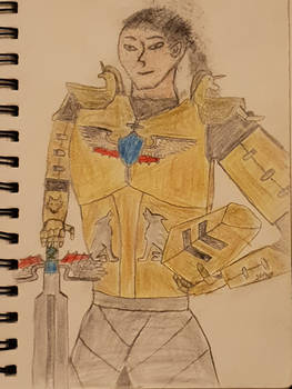 Ash in Armour (Without Helemet Coloured)