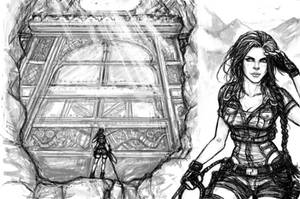 Lara Croft and the Kingdoms of ZulQarnain by J3ckyll