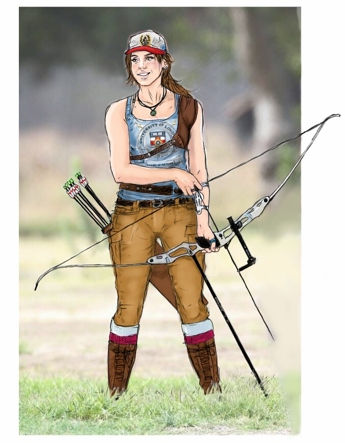 Archery club by J3ckyll