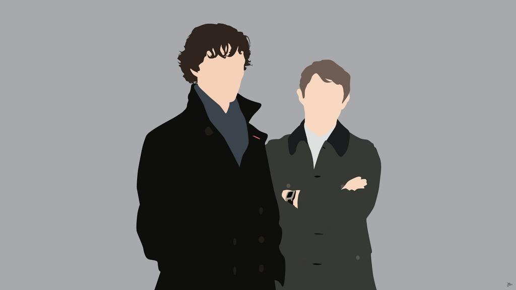 Sherlock Holmes/John Watson {Sherlock} by greenmapple17