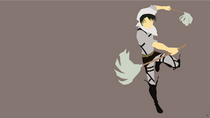 Levi Ackerman {Shingeki no Kyojin} by greenmapple17