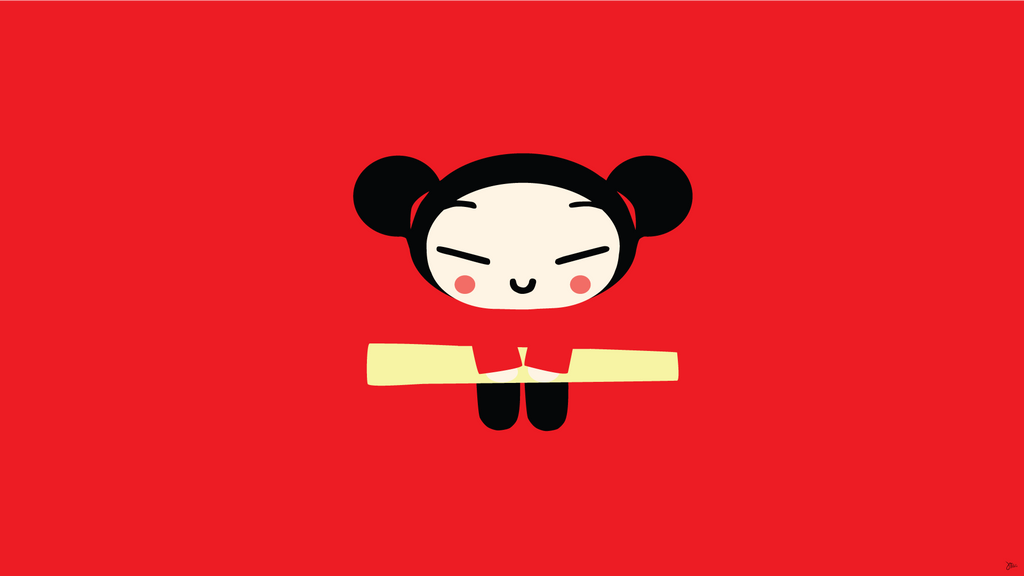 Pucca Funny Love Desktop Wallpaper : Pucca Vector Wallpaper by greenmapple17 on DeviantArt