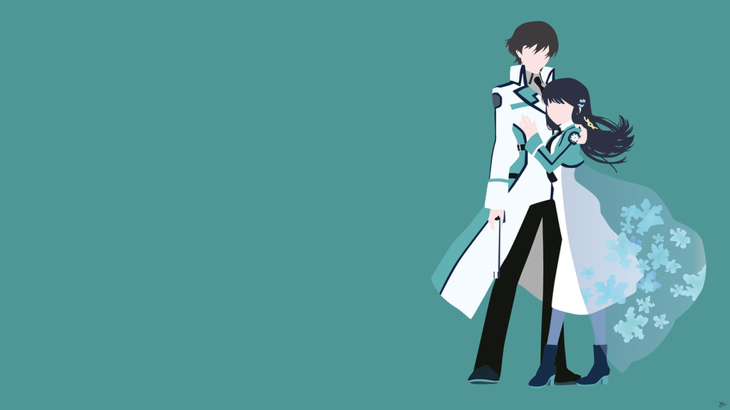 Miyuki/Tatsuya Shiba {Mahouka Koukou no Rettousei} by greenmapple17