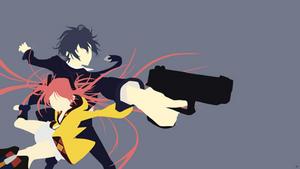 Rentaro Satomi/Enju Aihara {Black Bullet} by greenmapple17