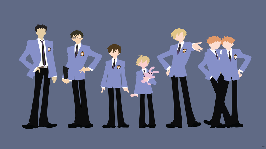 ouran high school host club by greenmapple17 on deviantart