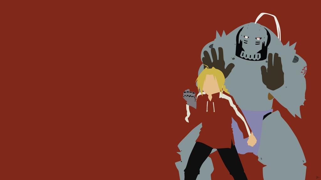 Edward/Alphonse Elric {Fullmetal Alchemist} by greenmapple17