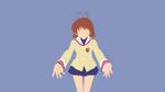 Nagisa Furukawa {Clannad} by greenmapple17