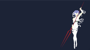 Rei Ayanami {Neon Genesis Evangelion} by greenmapple17