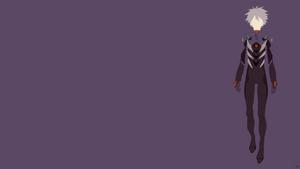 Kaworu Nagisa {Neon Genesis Evangelion} by greenmapple17