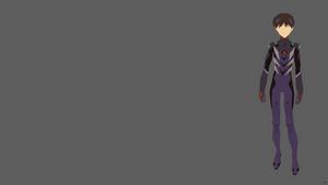 Shinji Ikari {Neon Genesis Evangelion} by greenmapple17